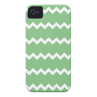 Grass Green Chevron Iphone 4/4S Case