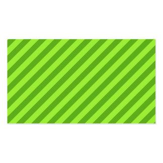 Grass Green Stripes. Business Card Templates