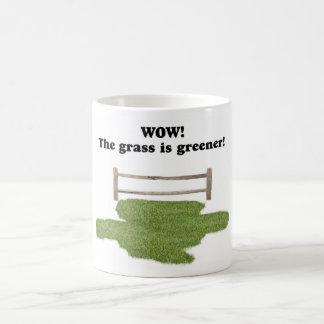 GRASS IS GREENER MUG