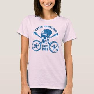 Grass Menagerie (blue) T-Shirt
