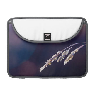 Grass on Purple MacBook Pro Sleeves