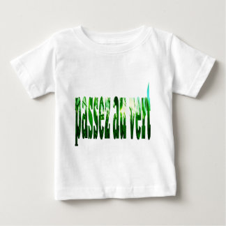 Grass pass to the green baby T-Shirt