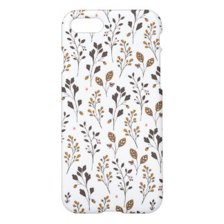 Grass pattern | Doodle Art iPhone 7 Case