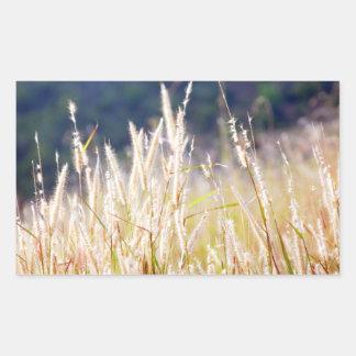 Grass Rectangular Sticker