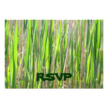 Grass Skirt Custom RSVP Cards