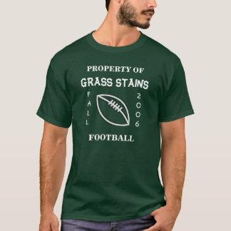 Grass Stains Football Uniform Fall 2006 T-Shirt