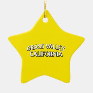 Grass Valley California Ornament