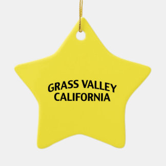 Grass Valley California Ornaments