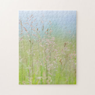 Grasses in motion jigsaw puzzle