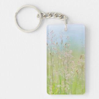 Grasses in motion key ring