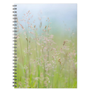 Grasses in motion notebook