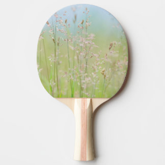 Grasses in motion ping pong paddle