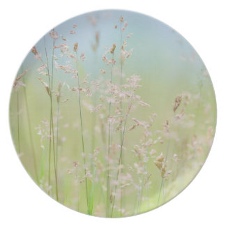 Grasses in motion plate