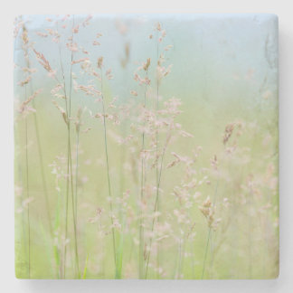 Grasses in motion stone coaster