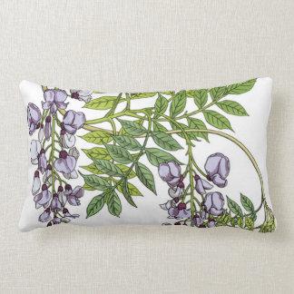 Grasset's Art Nouveau Wisteria Lumbar Cushion