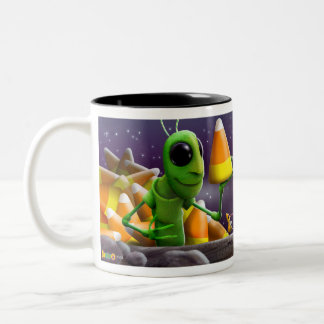 Grasshopper and Ants Halloween Mug