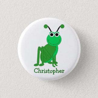 Grasshopper Just Add Name 3 Cm Round Badge