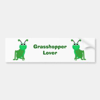 Grasshopper Lover Bumper Sticker