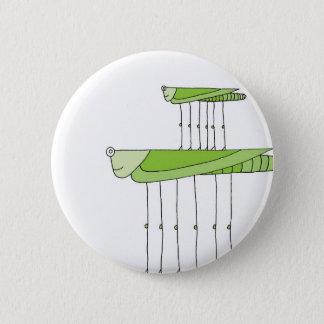 Grasshopper Stack 6 Cm Round Badge