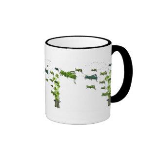 Grasshopper Swarm Ringer Mug