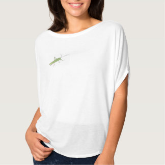 Grasshopper Women's Bella Flowy Circle Top, White T-Shirt