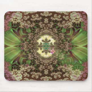 grasshoppers among drying flowers mouse pads