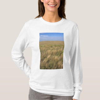 Grassland prairie east of Sidney, Nebraska. T-Shirt
