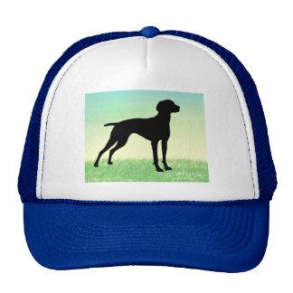 Grassy Field Vizsla t-shirts gifts Trucker Hats