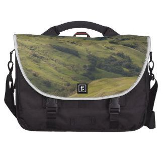 Grassy Pastures above Pacific, Cambria California Laptop Commuter Bag