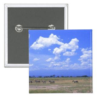 Grassy Plain 15 Cm Square Badge