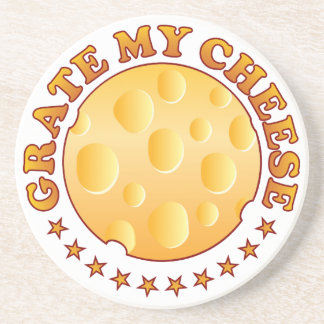Grate Cheese Brown Coasters