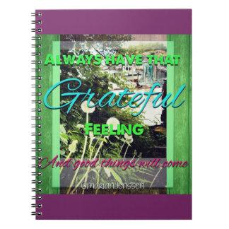 Grateful <3 notebook