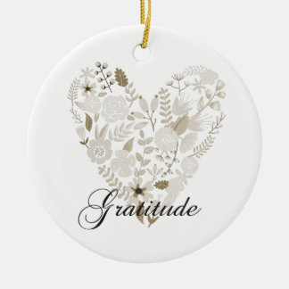 Grateful Heart Christmas Ornament