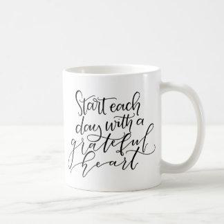 Grateful Heart Inspirational Mug