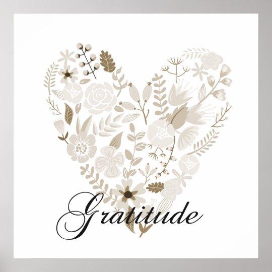 Grateful Heart Poster