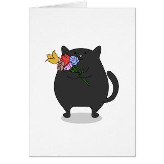 Grateful Kitty Card