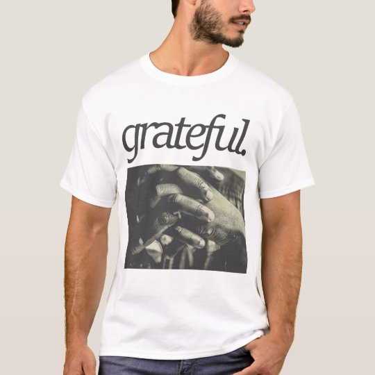 grateful. Religious Design T-Shirt