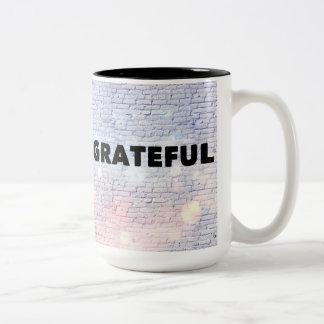 Grateful Two-Tone Coffee Mug