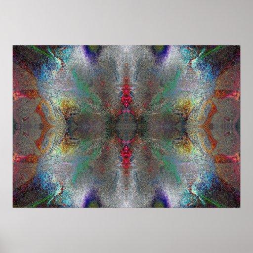 """Gratitude"" Abstract Chakra Meditation Art Print"