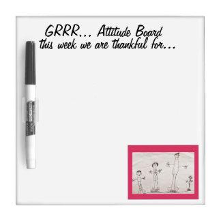 Gratitude Board Dry-Erase Whiteboard