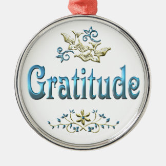 GRATITUDE CHRISTMAS ORNAMENT