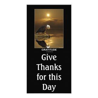 GRATITUDE ~ Inspirational Card Personalized Photo Card