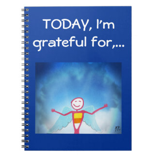 Gratitude Journal Spiral Notebooks