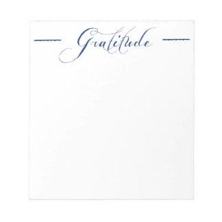 Gratitude Notepad