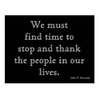 Gratitude Postcard