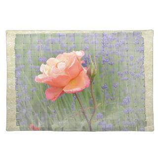 Gratitude Rose with Lavender Place Mat
