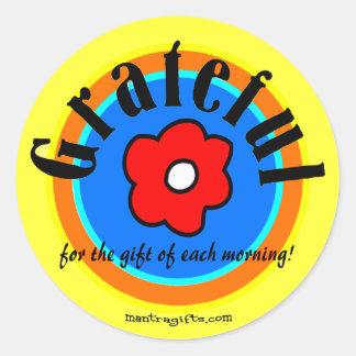 Gratitude Sticker