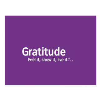 Gratitude - Thought Shapers™ Post Cards