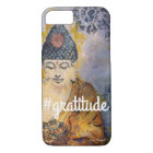 #Gratitude Zen Buddha Watercolor Art Phone Case