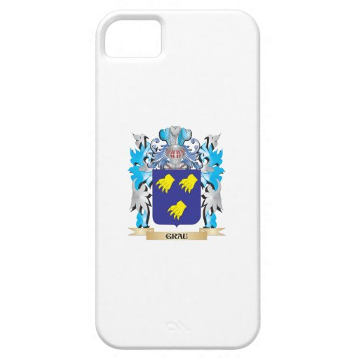 Grau Coat of Arms - Family Crest iPhone 5 Covers